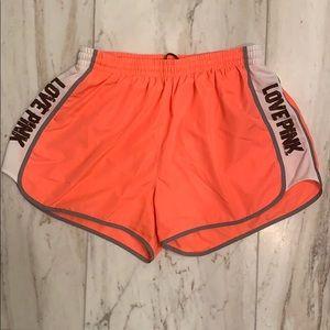 PINK sport shorts